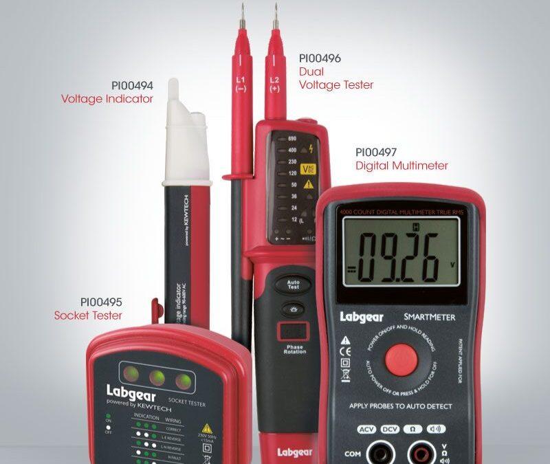 New Electrical Test Meter Range